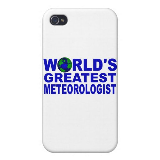 El meteorólogo más grande del mundo iPhone 4 carcasas