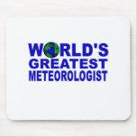 El meteorólogo más grande del mundo tapetes de ratones