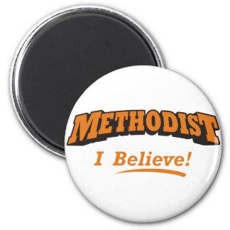 El Methodist/cree Imán Redondo 5 Cm