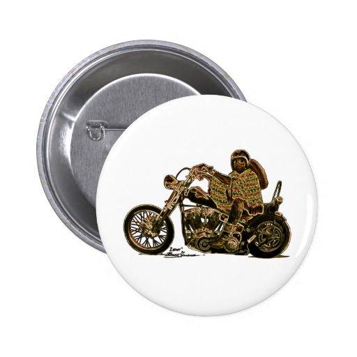 El Mexicano Bobber Pinback Buttons