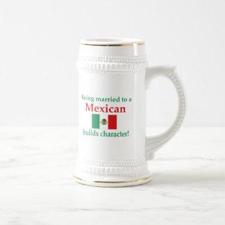 El mexicano construye Characcter Taza De Café
