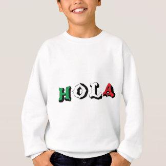 El mexicano divertido Hola embroma la camiseta