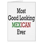 El mexicano más apuesto nunca tarjeta