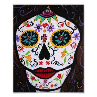 El mexicano Muerto hace frente al día de la pintur Impresiones Fotográficas