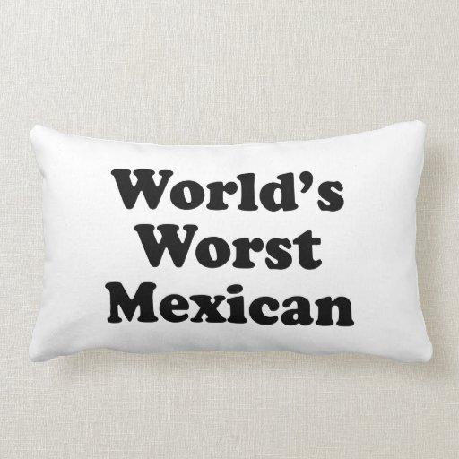 el mexicano peor del mundo cojines