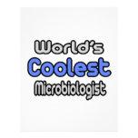 El microbiólogo más fresco del mundo plantillas de membrete