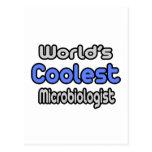 El microbiólogo más fresco del mundo tarjetas postales