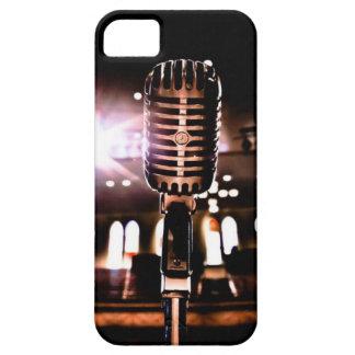 El micrófono Nashville Tennesse del auditorio de iPhone 5 Fundas