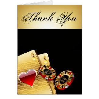El microprocesador del casino le agradece PIDE que Tarjeta De Felicitación