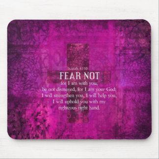 El miedo del 41:10 de Isaías no, porque yo estamos Tapete De Ratón