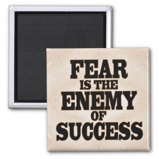 El miedo es el enemigo del éxito iman