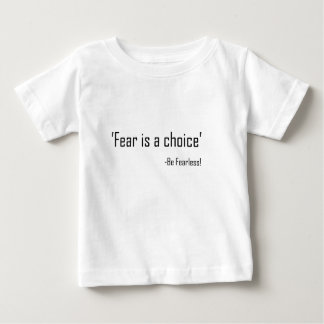 El miedo es una opción playeras