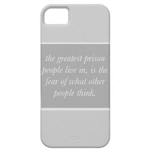 EL MIEDO MÁS GRANDE DE LA PRISIÓN 222 DE LO QUE PI iPhone 5 Case-Mate FUNDA