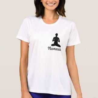 """El """"miedo menos"""" camisa de la yoga"""