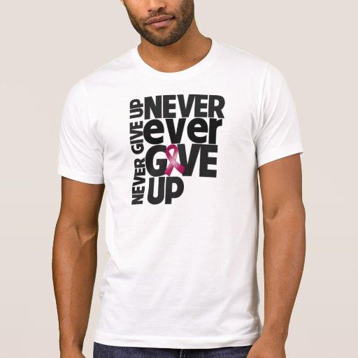 El mieloma múltiple da nunca nunca para arriba camiseta