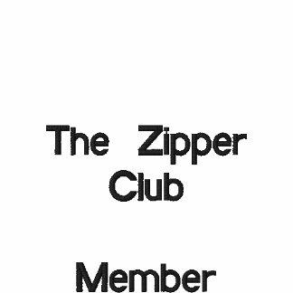 El miembro de club      de la cremallera camiseta polo