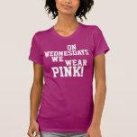 El miércoles llevamos rosa camisetas