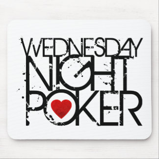 El miércoles por la noche póker tapete de ratones