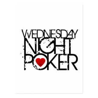 El miércoles por la noche póker postal