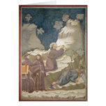El milagro de la primavera, 1297-99 tarjeta de felicitación