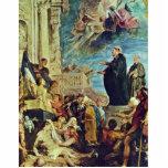El milagro de St Francis Javier de Rubens Peter Escultura Fotografica