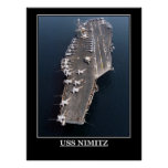 El militar de USS Nimitz envía emblemas de los avi Impresiones