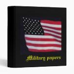 El militar empapela la carpeta