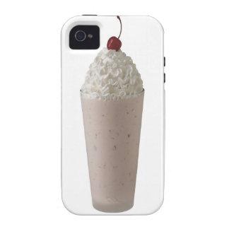 El Milkshake azotó la cereza poner crema en el Case-Mate iPhone 4 Funda