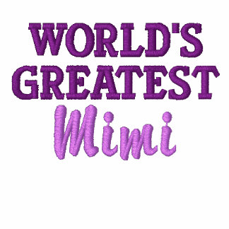 El Mimi más grande del mundo Chaquetas Bordadas