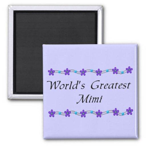 El Mimi más grande del mundo Imán De Frigorifico