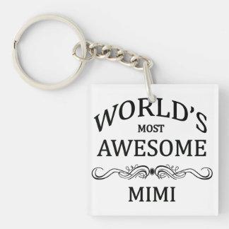 El Mimi más impresionante del mundo Llavero