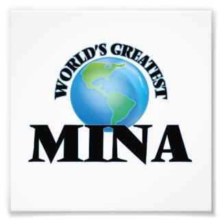 El Mina más grande del mundo Impresiones Fotograficas