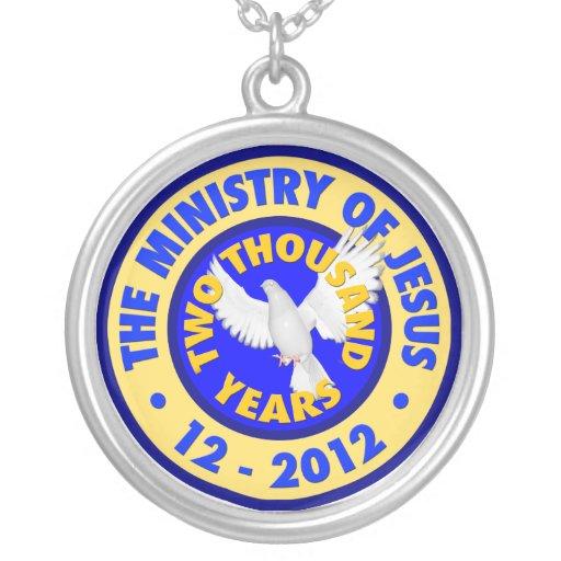El ministerio de Jesús Colgante Redondo