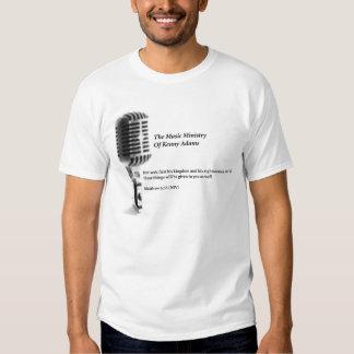 El ministerio de la música de la camiseta de Kenny Playeras
