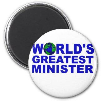 El ministro más grande del mundo imán redondo 5 cm