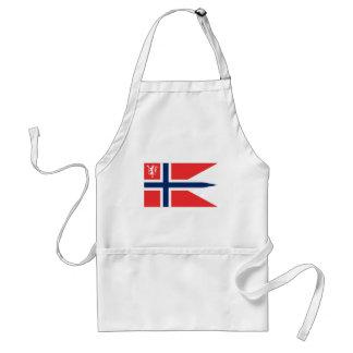el ministro noruego defensa, Noruega Delantal