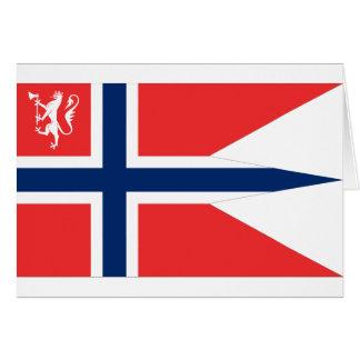 el ministro noruego defensa, Noruega Tarjeta De Felicitación
