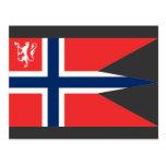 el ministro noruego defensa, Noruega Tarjetas Postales