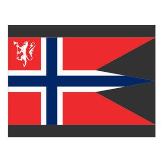el ministro noruego defensa, Noruega Tarjeta Postal