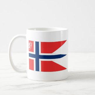 el ministro noruego defensa, Noruega Taza Básica Blanca