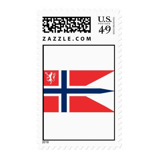 el ministro noruego defensa, Noruega Timbres Postales
