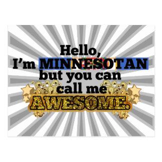 El Minnesotan, pero me llama impresionante Tarjeta Postal