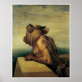 El Minotaur Póster