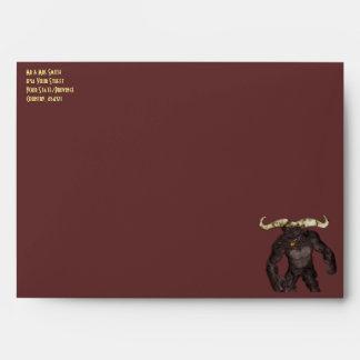 El Minotaur tres sobres