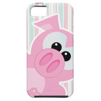 el mirar a escondidas guarro del cerdo de los iPhone 5 fundas