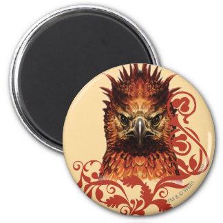 El mirar fijamente de Fawkes Imán Redondo 5 Cm
