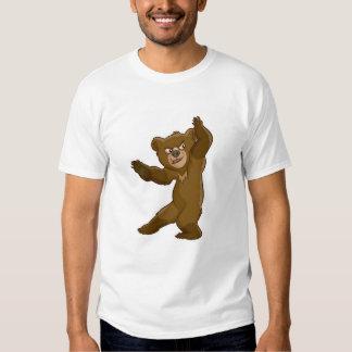 El mirar fijamente Disney de Koda del oso de Remeras