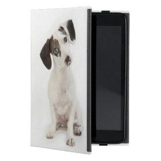 El mirar fijamente femenino del perrito del Dachsh iPad Mini Protector