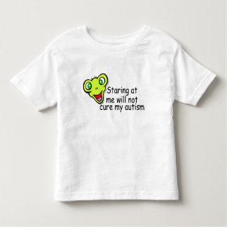 El mirar fijamente mí no me curará autismo (el tshirts