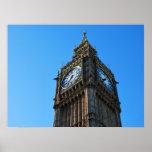 El mirar para arriba la torre de Big Ben Impresiones